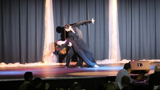Ballroom dance took center stage.